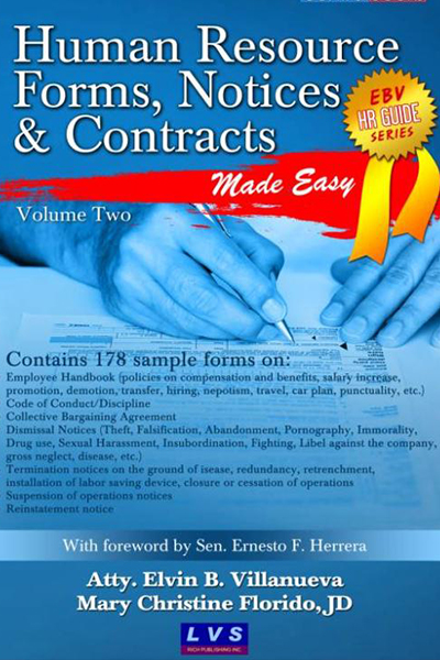 Human Resource Forms, Notices and Contracts Vol. 2 - LVS Rich ...